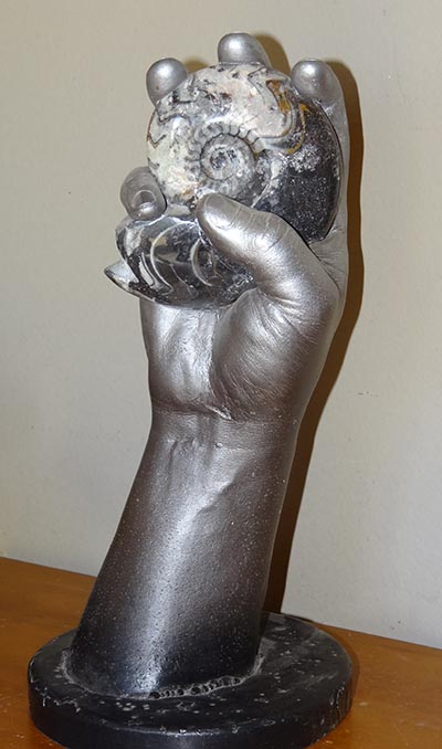 Do you have a favorite object you could hold in a hand casting? Go ahead, the alginate won't hurt it.